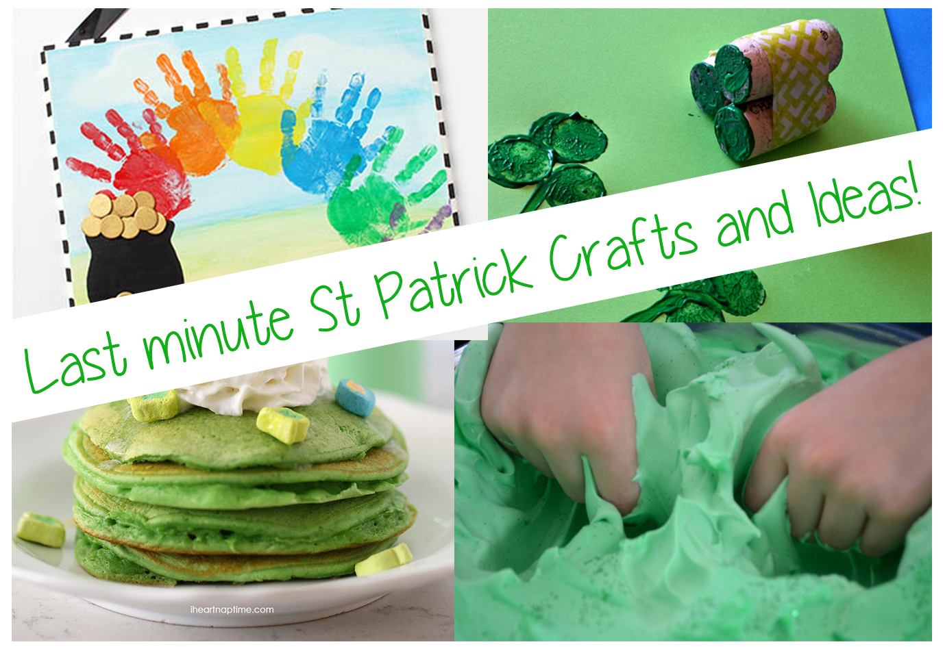 10 St Patrick day Festive Ideas and Crafts!