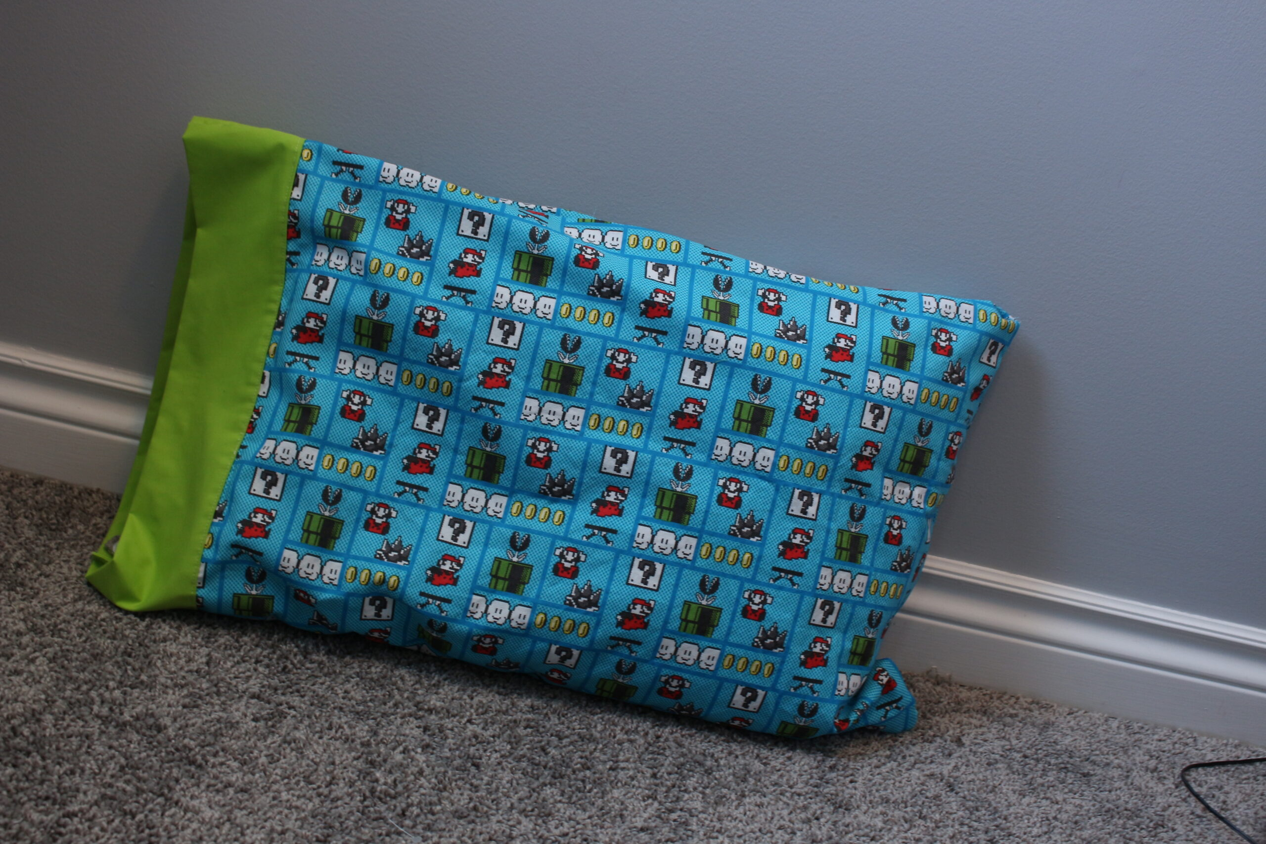 Easy No raw edges pillow case – sewing tutorial