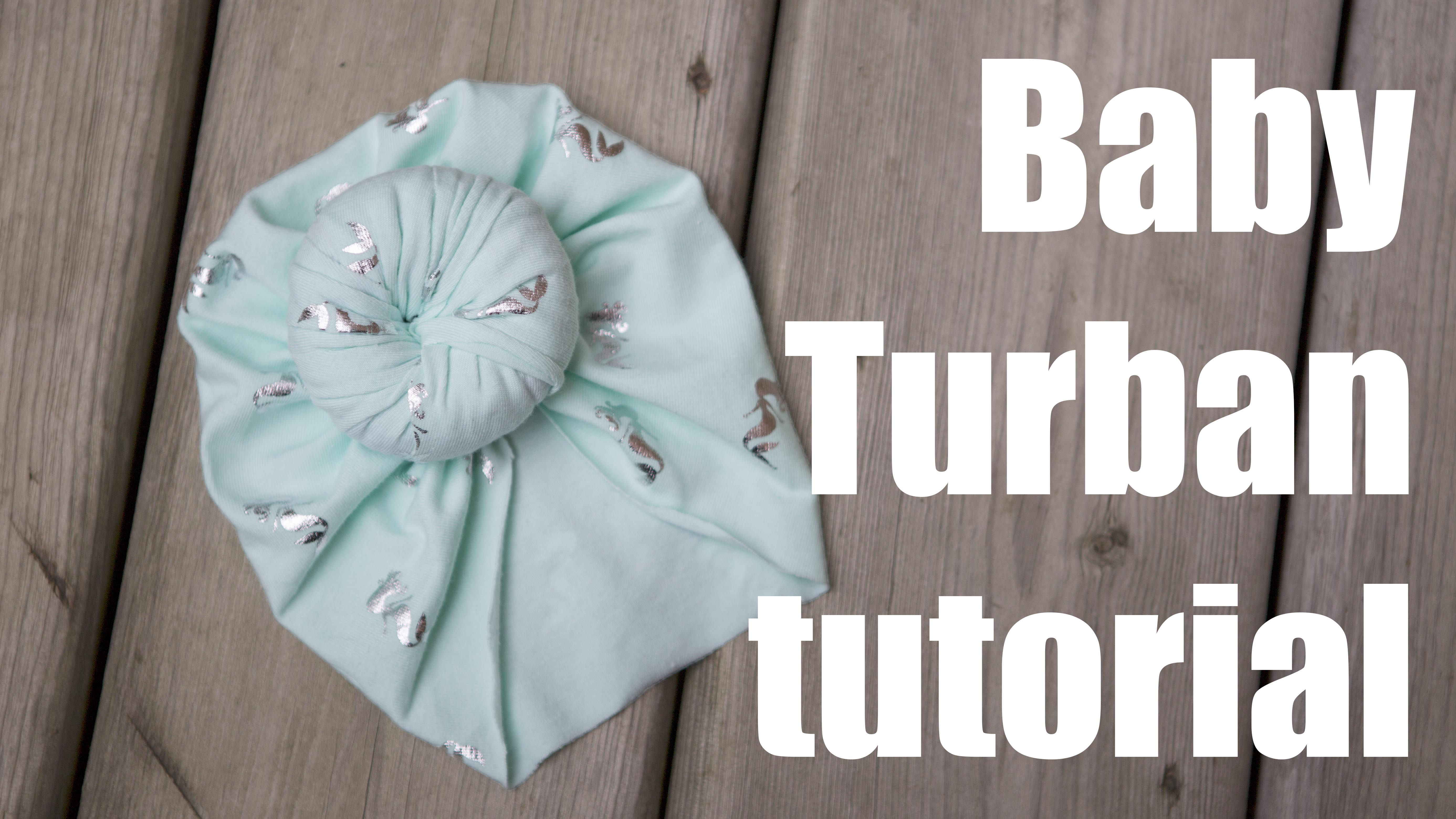 ac23215b6 Newborn Baby Turban hat | Charmed By Ashley