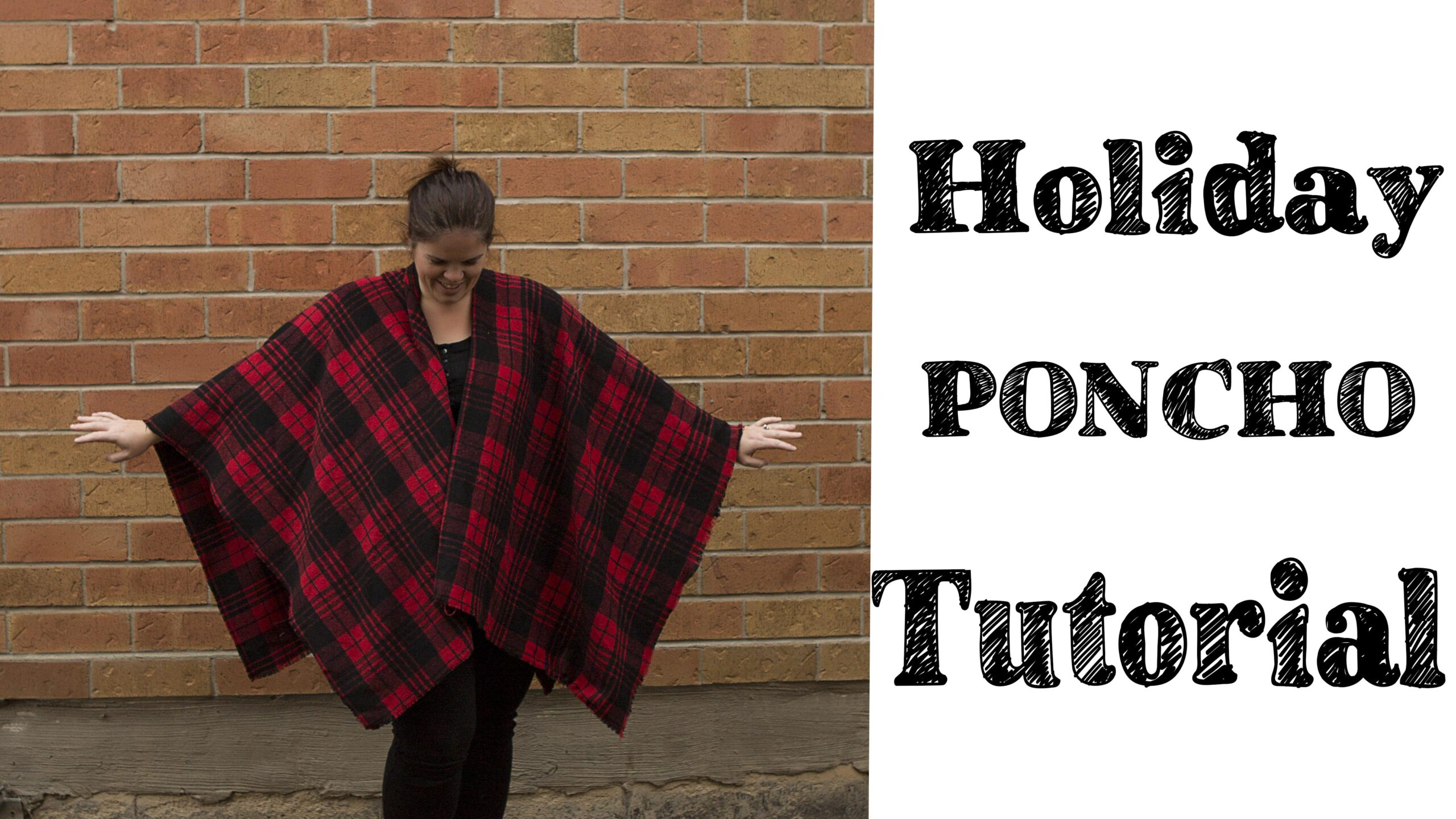 Quick Easy Poncho