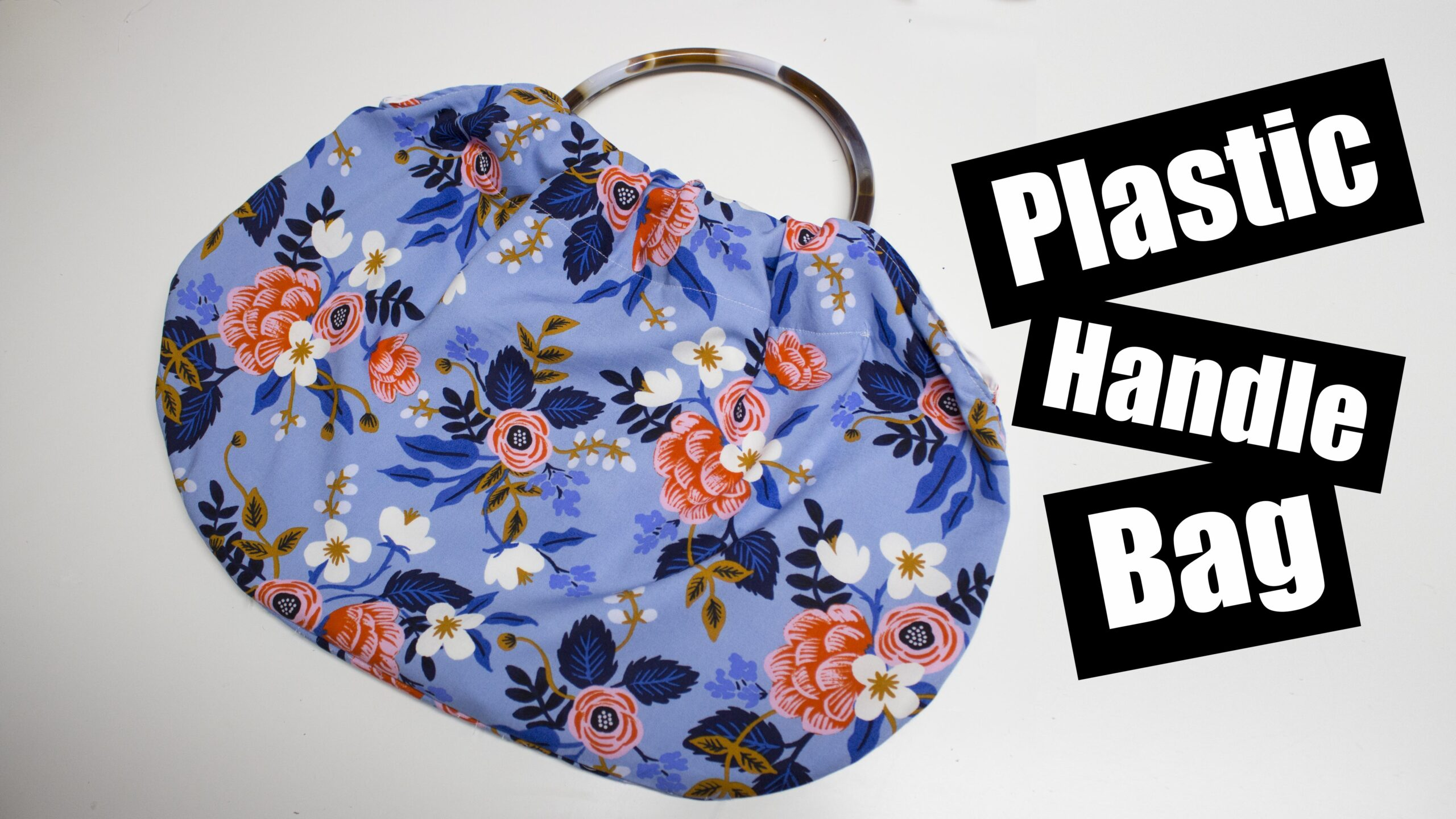 Plastic Handle purse tutorial