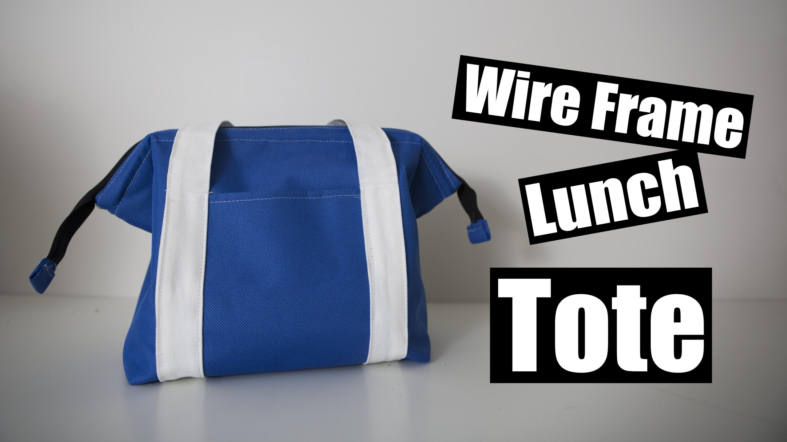 Wire Frame Lunch Tote