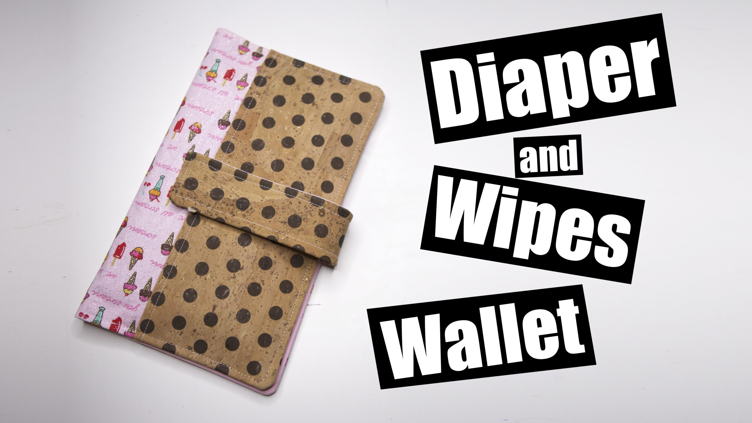 Diaper and Wipes wallet