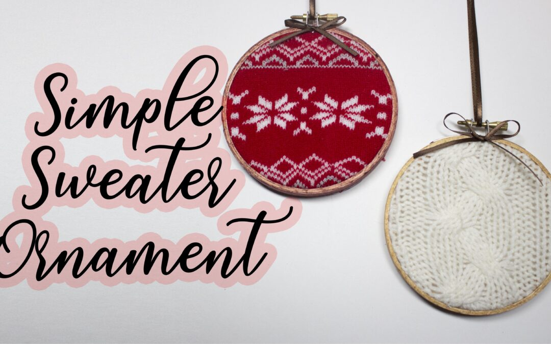 Simple Sweater Ornament